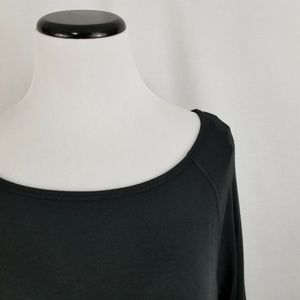 GAIAM Tops - GAIAM Black Ruby Strappy-Back Tunic Yoga Top